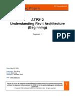 Understanding Revit Architecture -Beginners