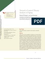 Envejecimiento Toward a Control Theory
