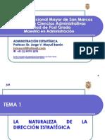 ADM EST - 01 - Naturaleza Direccion Estrategica