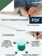 Clase 3 4 Investigacion Documental