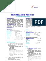 SF.5 Sky Melamine Resin LF