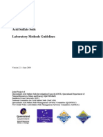Acid Sulphate Methods QLD