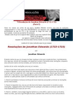 70 Resoluções de Jonathan Edwards