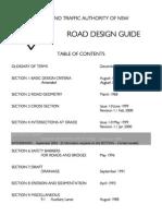RTA Road Design Guide