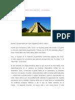 significado de las profecías mayas