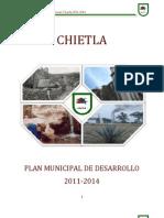 Plan Municipal de Desarrollo Chietla1