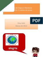 Aulas de língua e literatura
