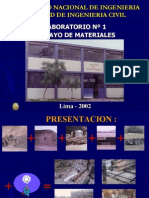 Laboratorio de Materiales Fic-uni