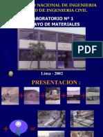 Laboratorio de Materiales Fic-uni