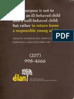 Elan Brochure Inside Back Cover