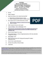 Mprwa Agenda and Misc 06 14 12