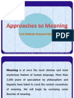 Approaches to Meaning-Octavio