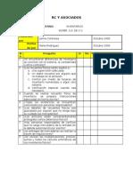 Programas de Auditoria Inventario Cxc y Activos Fijos