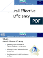 Overall Effective Efficiency