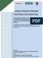Summary Paper on Kecamatan1