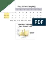 Population Sampling Chart