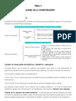 33191374 La Validez de La Investigacion Tema 4 Fundamentos de Investigacion en Psicologia UNED A