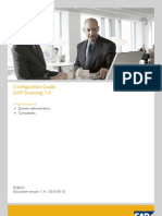 Config Guide for Sap Sourcing