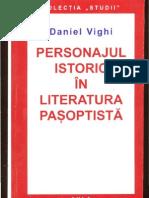 Daniel Vighi Personajul istoric in literatura pasoptista