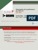 Observatoire de la performance des PME-ETI Juin -18ème éd - Baro (2)