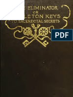 The Eliminator; Or, Skeleton Keys to Sacerdotal Secrets (1892) Westbrook, Richard Brodhead