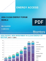 Milo Sjardin - Financing Energy Access