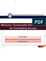 Pola Singh - Malaysia Sustainable Electrification for Facilitating Access