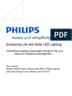 Harry Verhaar - Enhancing Life With Solar LED Lighting
