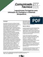 Seleção de Leguminosas Forrageiras para Sistemas Silvipastroris