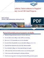 Balawant Joshi - Policy and Regulatory Interventions to Support Community Level Off Grid Projects