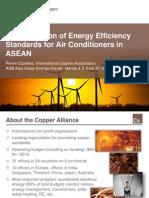Pierre Cazalles - Harmonization of Energy Efficiency Standards for Household Appliances