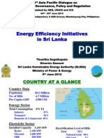 Thusitha Sugathapala - EE Initiatives in Sri Lanka