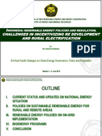 Dadan Kusdiana - Indonesia Renewable Energy Policies and Regulations