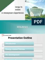 Ruzaida Daud - Malaysia Renewable Energy in Grid Expansion