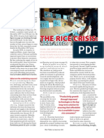 RT Vol. 7, No. 3 The rice crisis