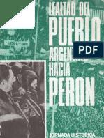 Perón, Juan. Discursos Nº 1 . Editorial Codex. Octubre, 1974.
