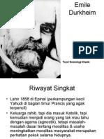 (6)Emile Durkheim