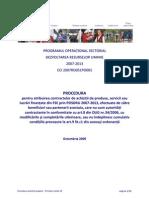 Procedura Achizitii Publice