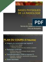 Basics of Xray and Radiology