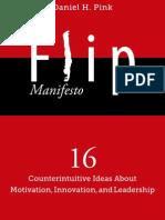 Dan Pink FLIP Manifesto