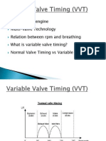 Variable Valve Timing (VVT)