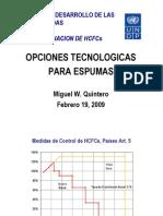 3269 Opciones Tecnologicas Espumas Miguel Quintero