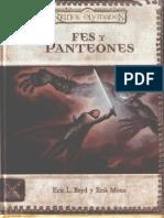 Reinos Olvidados - Fes y Panteones