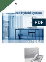 Panasonic KX-TES824 Brochure