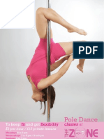 Pole Dance flyer