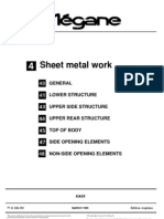 Megane break sheetmetal