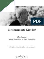 Jiddu Krishnamurti Kimdir