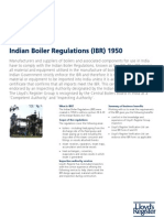 Indian Boiler Regulations Factsheet [PDF Library]