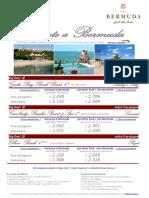 Speciale viaggi a Bermuda, Caraibi con Press Tours - Estate 2012