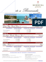 Speciale viaggi a Bermuda, Caraibi con Press Tours - Estate 2012